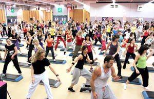 Фитнес конвенция Видео фитнес