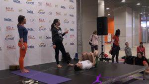 413. Е. Ульмасбаева - Многогранная йога для фитнеса 3 MIOFF 2016